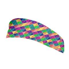 Background Geometric Triangle Stretchable Headband