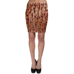 Stainless Rusty Metal Iron Old Bodycon Skirt