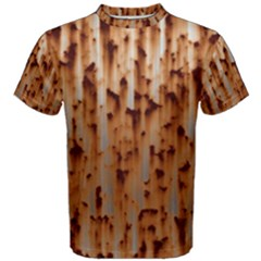 Stainless Rusty Metal Iron Old Men s Cotton Tee