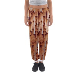 Stainless Rusty Metal Iron Old Women s Jogger Sweatpants