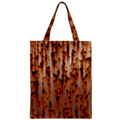 Stainless Rusty Metal Iron Old Zipper Classic Tote Bag