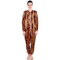 Stainless Rusty Metal Iron Old Onepiece Jumpsuit (ladies)