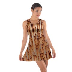 Stainless Rusty Metal Iron Old Cotton Racerback Dress