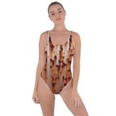 Stainless Rusty Metal Iron Old Bring Sexy Back Swimsuit