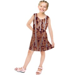 Stainless Rusty Metal Iron Old Kids  Tunic Dress