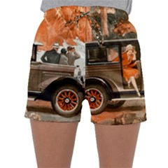 Car Automobile Transport Passenger Sleepwear Shorts