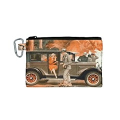 Car Automobile Transport Passenger Canvas Cosmetic Bag (small)