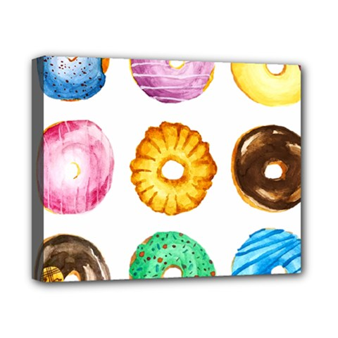 Donuts Canvas 10  X 8  by KuriSweets