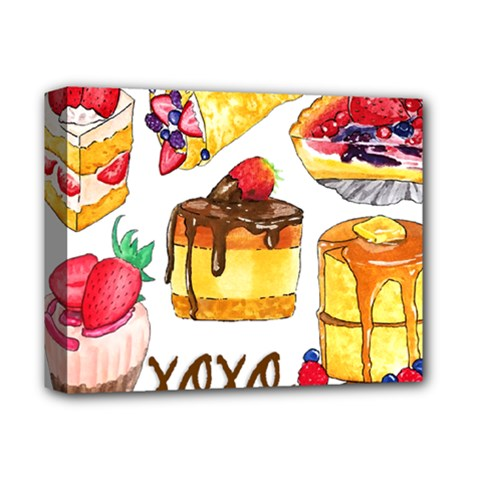 Xoxo Deluxe Canvas 14  X 11  by KuriSweets
