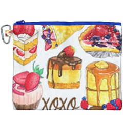 Xoxo Canvas Cosmetic Bag (xxxl) by KuriSweets