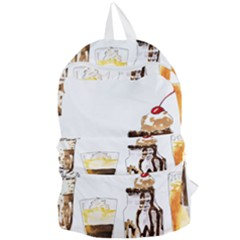 Coffee And Milkshakes Foldable Lightweight Backpack by KuriSweets