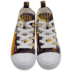 Halloween 979495 1280 Kid s Mid Top Canvas Sneakers