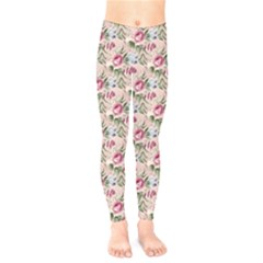 Cute Floral 218a Kids  Legging by MoreColorsinLife