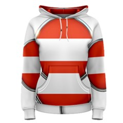 Austria Country Nation Flag Women s Pullover Hoodie