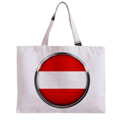 Austria Country Nation Flag Zipper Mini Tote Bag