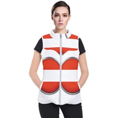 Austria Country Nation Flag Women s Puffer Vest