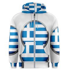 Greece Greek Europe Athens Men s Zipper Hoodie