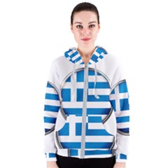 Greece Greek Europe Athens Women s Zipper Hoodie