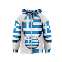 Greece Greek Europe Athens Kids  Zipper Hoodie