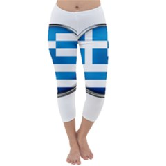 Greece Greek Europe Athens Capri Winter Leggings