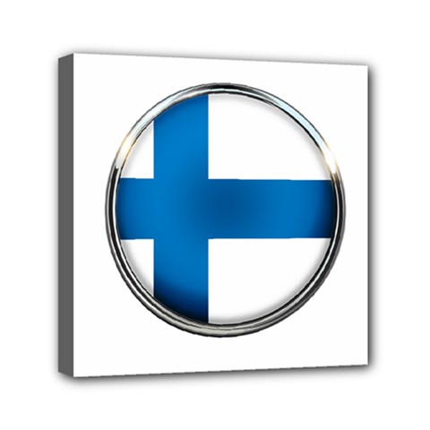 Finland Country Flag Countries Canvas Travel Bag
