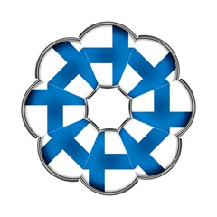 Finland Country Flag Countries Hook Handle Umbrellas (medium)