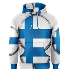 Finland Country Flag Countries Men s Pullover Hoodie