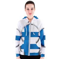 Finland Country Flag Countries Women s Zipper Hoodie