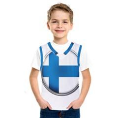 Finland Country Flag Countries Kids  Sportswear
