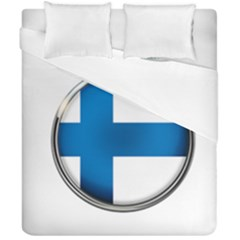 Finland Country Flag Countries Duvet Cover Double Side (california King Size)
