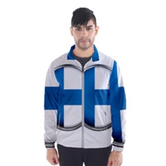 Finland Country Flag Countries Wind Breaker (men)
