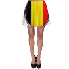 Belgium Flag Country Brussels Skater Skirt