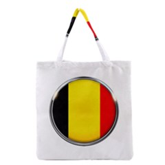 Belgium Flag Country Brussels Grocery Tote Bag