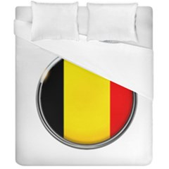 Belgium Flag Country Brussels Duvet Cover Double Side (california King Size)