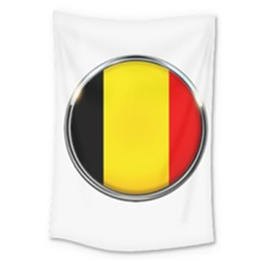 Belgium Flag Country Brussels Large Tapestry