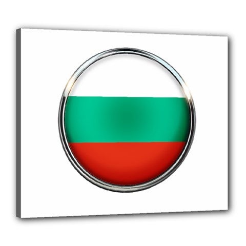 Bulgaria Country Nation Nationality Canvas 24  X 20