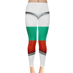Bulgaria Country Nation Nationality Leggings  by Nexatart