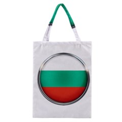 Bulgaria Country Nation Nationality Classic Tote Bag