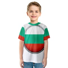 Bulgaria Country Nation Nationality Kids  Sport Mesh Tee