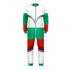 Bulgaria Country Nation Nationality Onepiece Jumpsuit (kids)