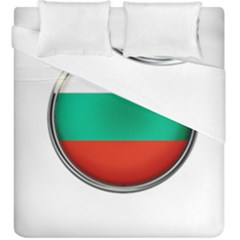 Bulgaria Country Nation Nationality Duvet Cover Double Side (king Size)