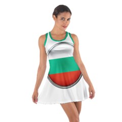 Bulgaria Country Nation Nationality Cotton Racerback Dress