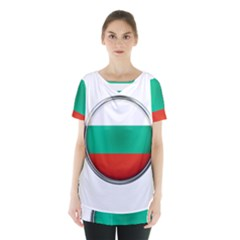 Bulgaria Country Nation Nationality Skirt Hem Sports Top