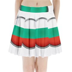 Bulgaria Country Nation Nationality Pleated Mini Skirt