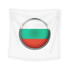Bulgaria Country Nation Nationality Square Tapestry (small)