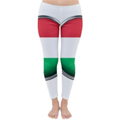 Hungary Flag Country Countries Classic Winter Leggings