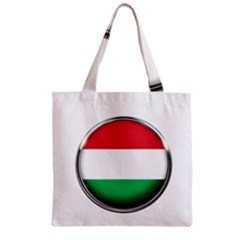 Hungary Flag Country Countries Zipper Grocery Tote Bag by Nexatart