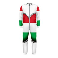 Hungary Flag Country Countries Onepiece Jumpsuit (kids)