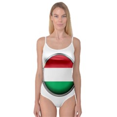 Hungary Flag Country Countries Camisole Leotard
