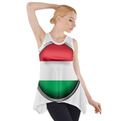 Hungary Flag Country Countries Side Drop Tank Tunic
